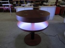 Modified MOD-1468 Wireless Charging Bistro Table with LED Lights